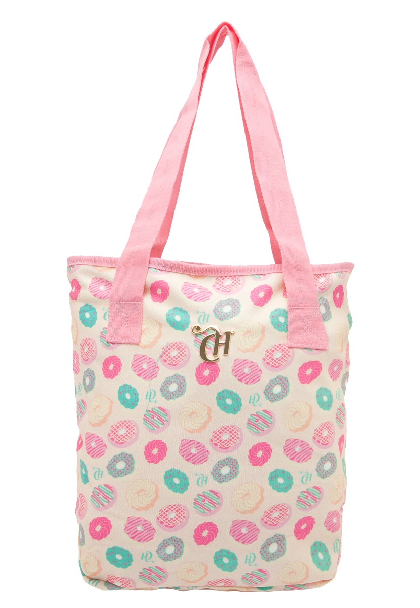68d1ccdf3 bolsa sacola praia pequena - tote capricho rosa 48651. Carregando zoom.