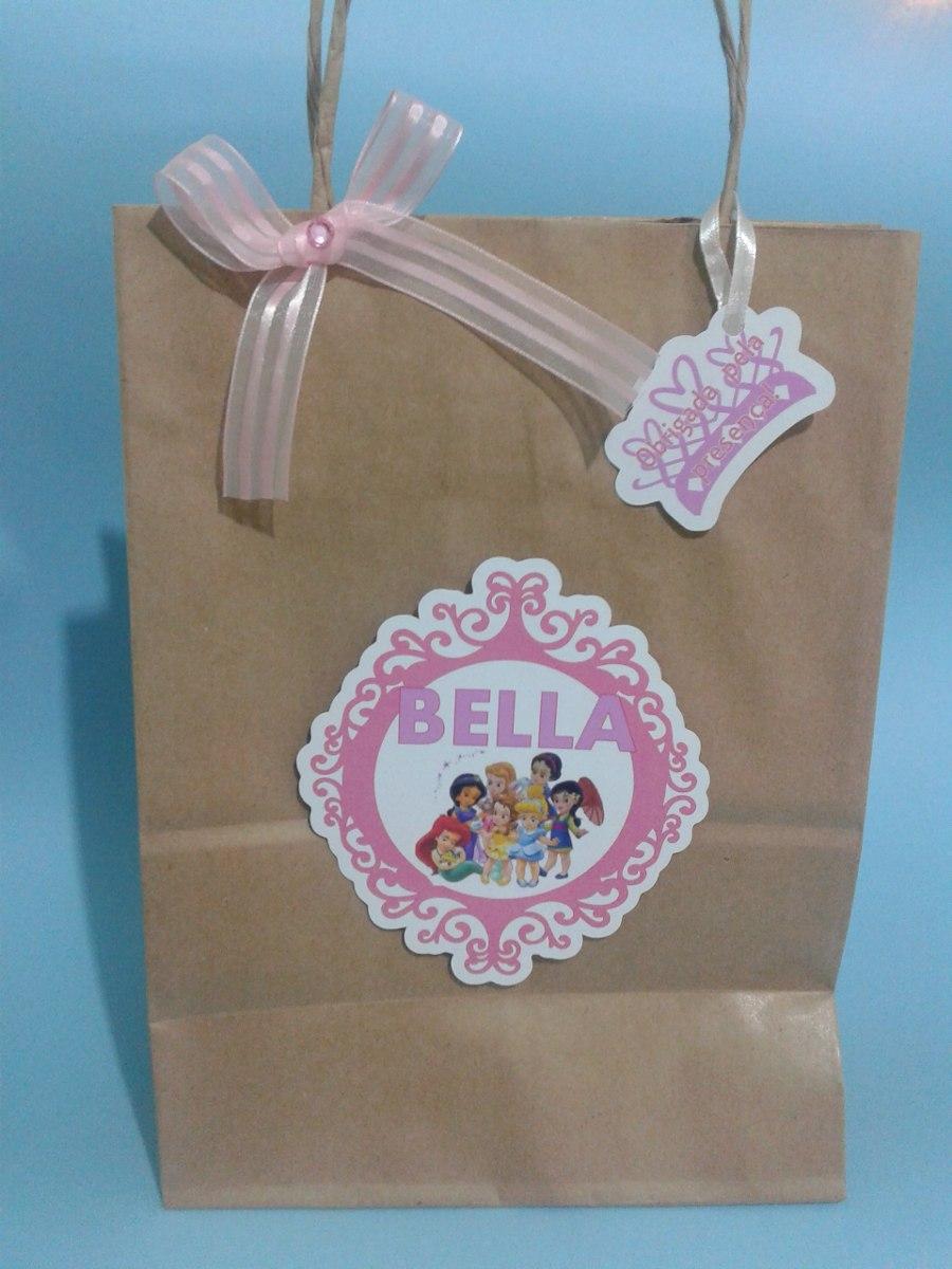 Bolsa De Festa Infantil : Bolsa sacola saco kraft personalizado festa infantil r