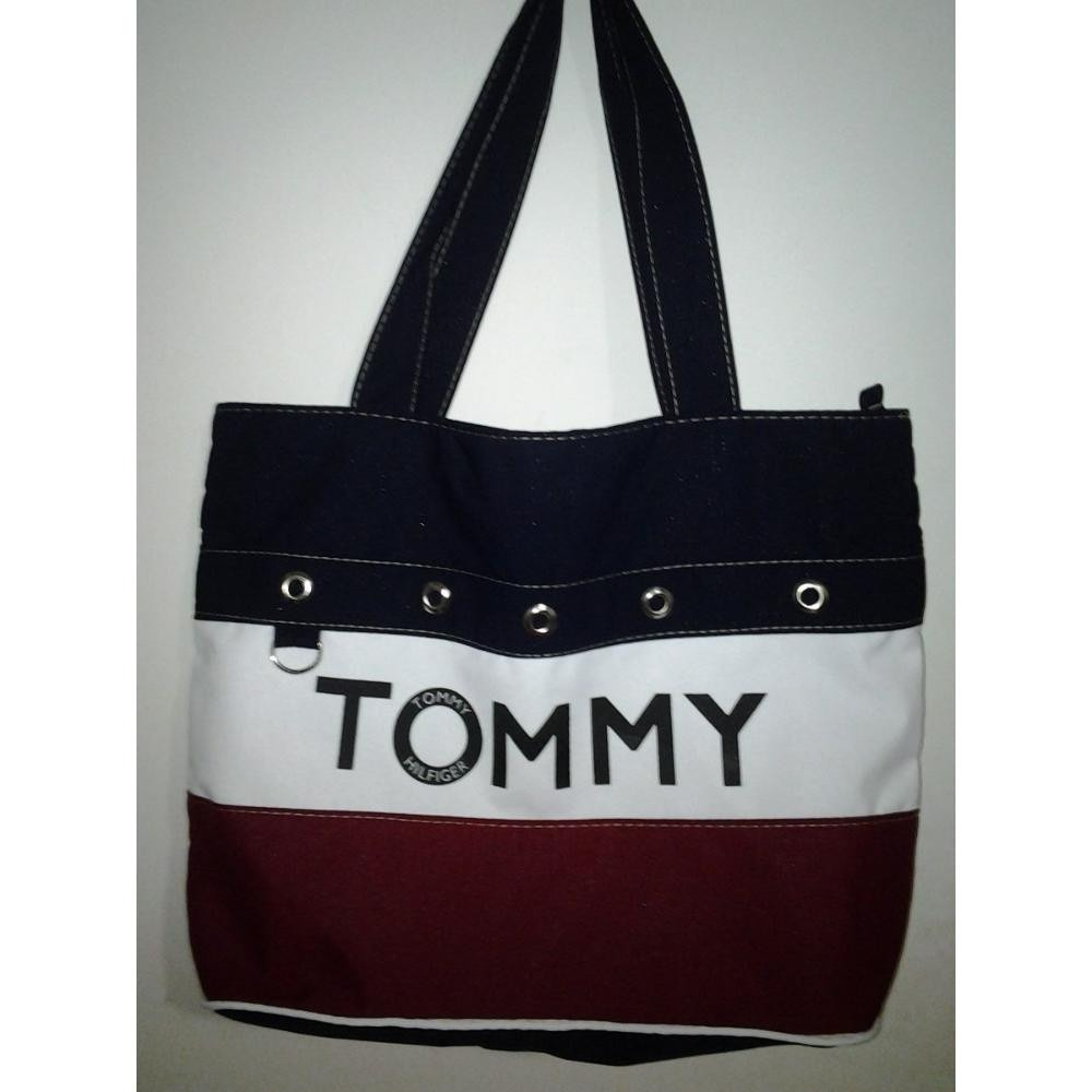 Bolsa Esportiva Feminina Tommy : Bolsa sacola tommy hilfiger r em mercado livre