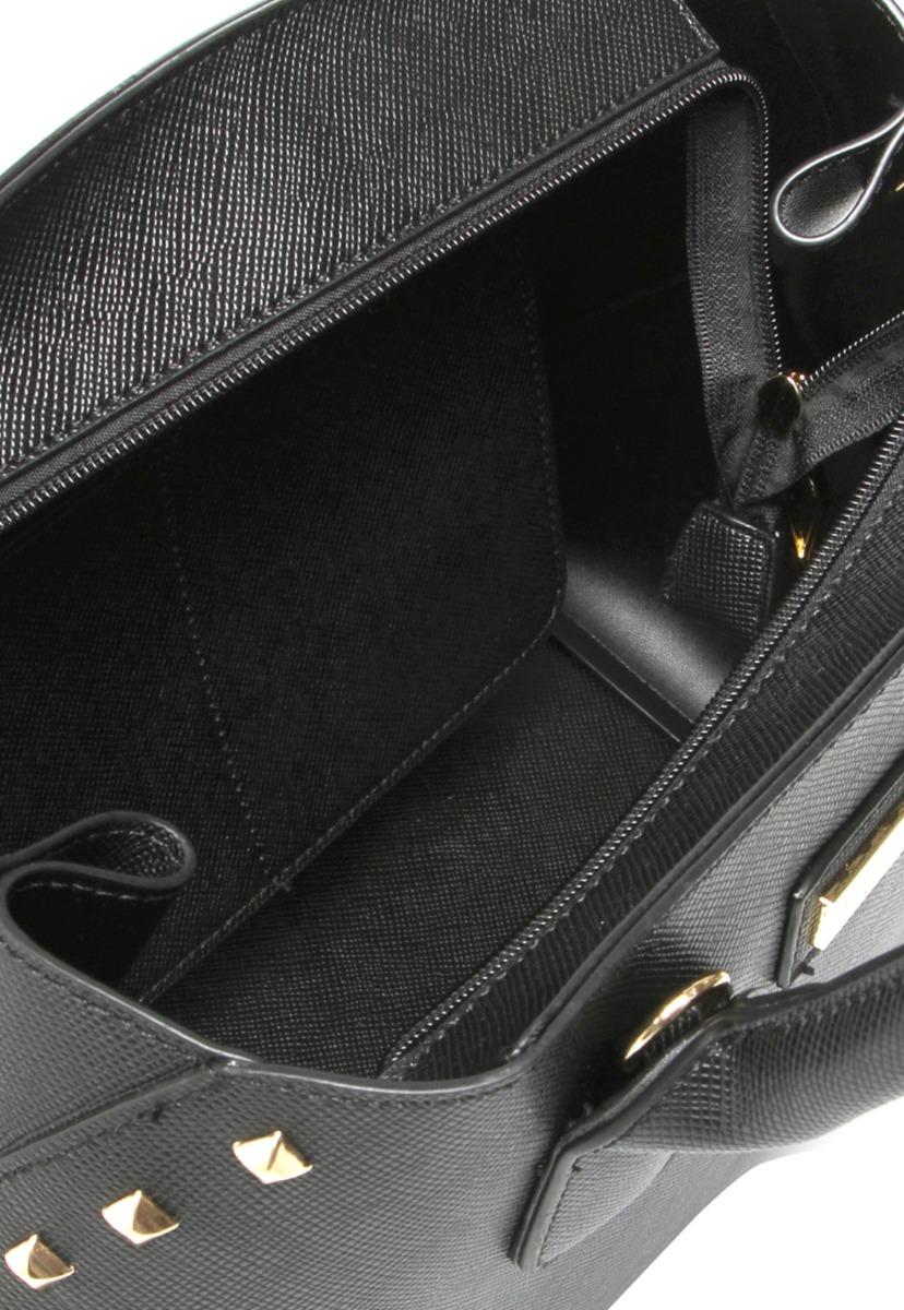 bolsa santa lolla com tachas douradas na cor preta - 1593. Carregando zoom. caef1d795c5