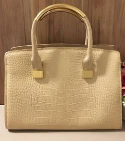 8f4b0d68d Bolsa Colcci Croco Off White Ver Zara Schutz - Bolsas de Couro no ...