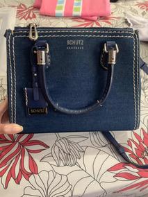 74d584dc68 Bolsa Schutz Jeans - Bolsa Schutz Femininas no Mercado Livre Brasil