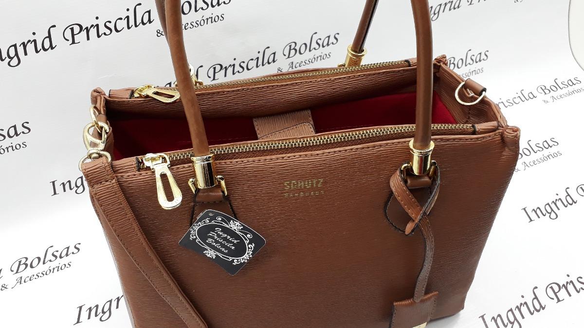 6bfccb59c Bolsa Schutz Lorena Marrom - R$ 198,00 em Mercado Livre