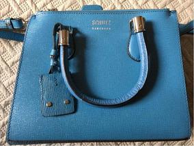 6b19f21b5 Bolsas Inspired Schutz Atacado - Bolsas de Couro Azul no Mercado ...