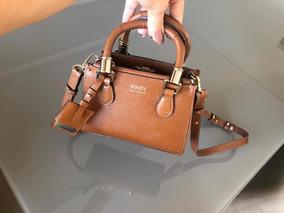 9d97ef704d Bolsa Schutz Mini Lorena Bege - Bolsas de Couro no Mercado Livre Brasil