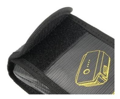 bolsa seguridad anti explosión bateria drone mavic pro