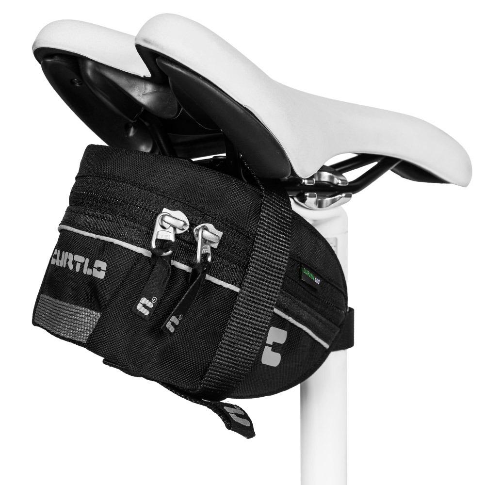 aa5ffcf30 Bolsa Selim Bicicleta Curtlo Si Resistente Agua 2018 Mtb - R  65