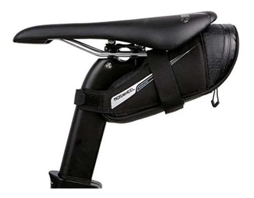 bolsa selim roswheel impermeavel tamamho m bike mtb speed