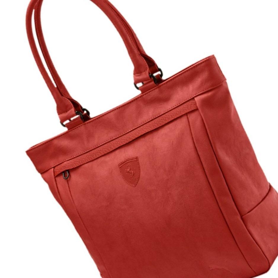 75cb5b21a bolsa s.ferrari shopper puma vermelha bossa nova 50%desconto. Carregando  zoom.