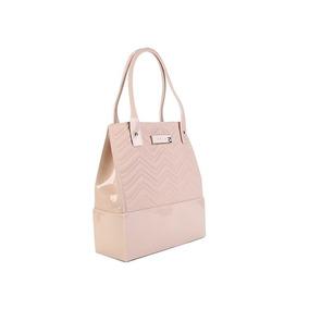 f3a0be8b6193 Bolsa Barbie Alça Mão Transversal Rosa Nude Nota Fiscal Orig. 1 vendido ·  Bolsa Shopper Petite Jolie Pj3911 Original Com Nota Fiscal