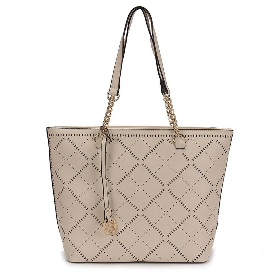 c4361a026 Bolsa Shopping Bag Gash - Bege - R$ 119,99 em Mercado Livre