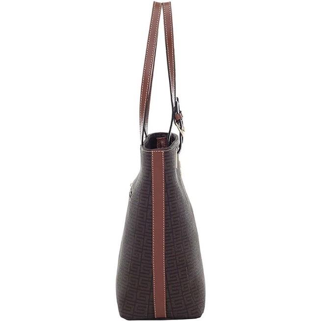 e73a9687c Bolsa Smartbag Tiracolo Veneza Chocolate/couro Original - R$ 389,99 ...