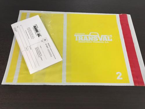 bolsa sobre de seguridad void p/envíos ecommerce 25x32cmx100