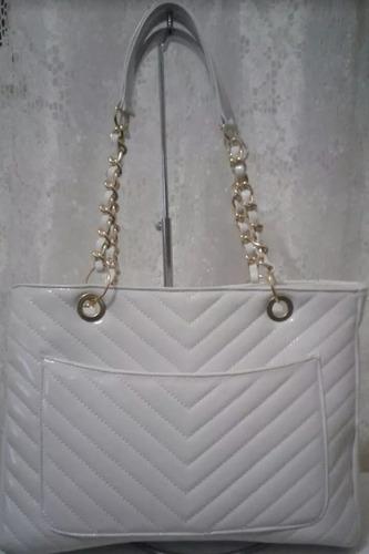 bolsa social shopper de luxo corrente dourada alça dupla