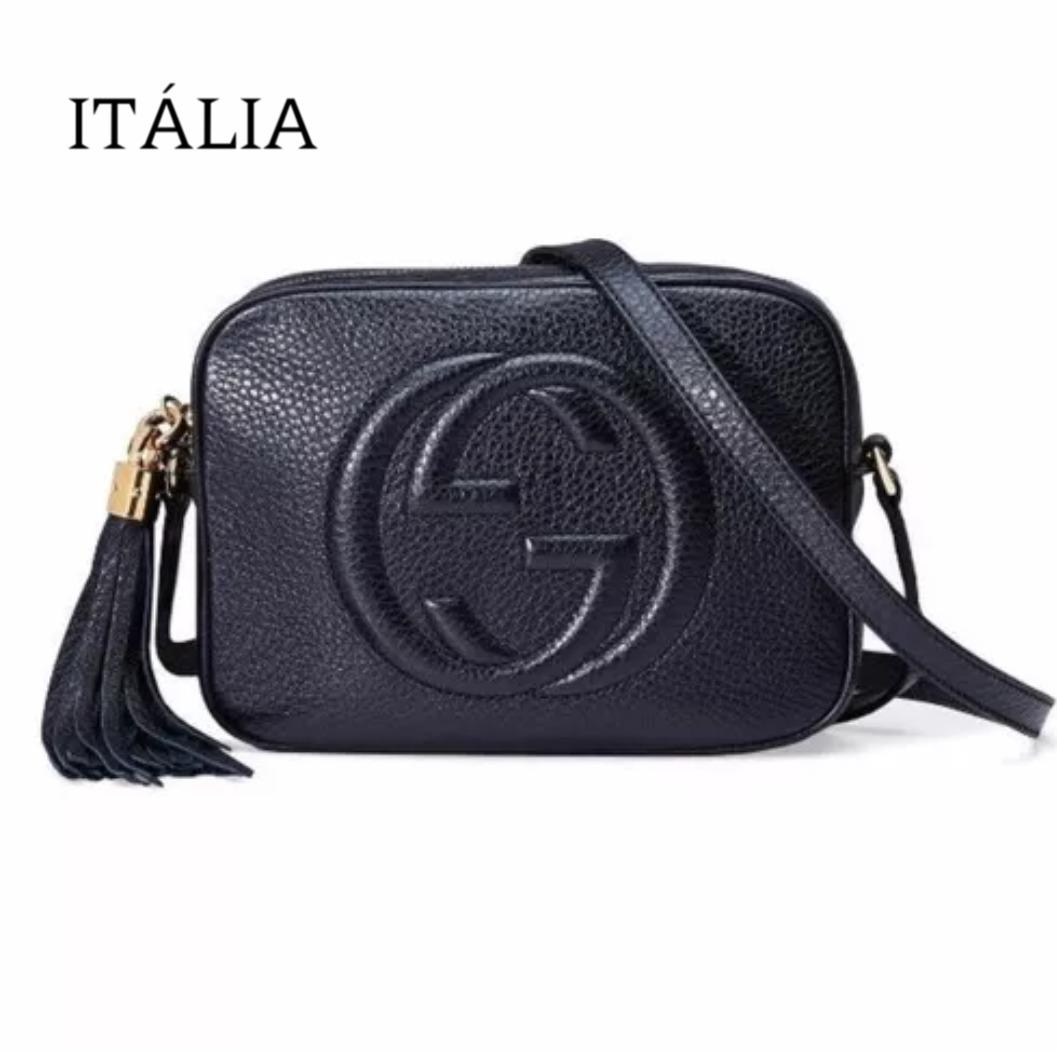 ... Femininas · Couro Sintético · Gucci. Compartilhar. Compartilhar. Vender  um igual. bolsa soho disco gucci itália. Carregando zoom. 57bbbf1206
