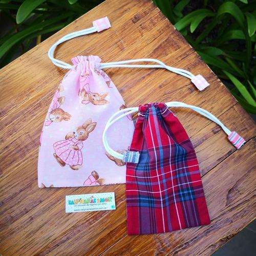 bolsa sorpresa multiuso mediana tela cordon