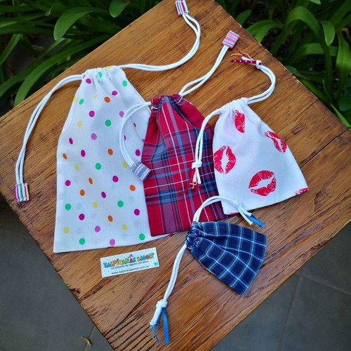 bolsa sorpresa multiuso mini tela cordon
