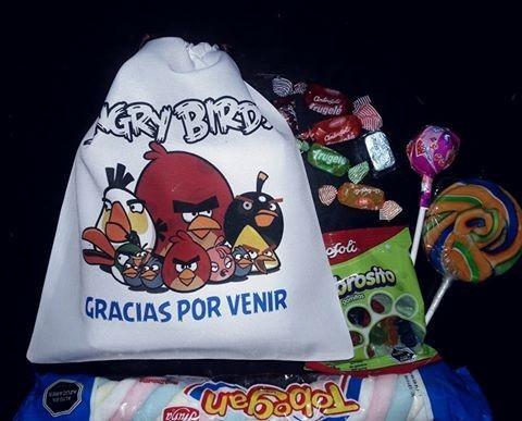 bolsa sorpresa personalizada - cumpleaños - fiesta - dulces