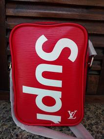 02470589bbc Supreme - Bolsa Louis Vuitton com o Melhores Preços no Mercado Livre ...