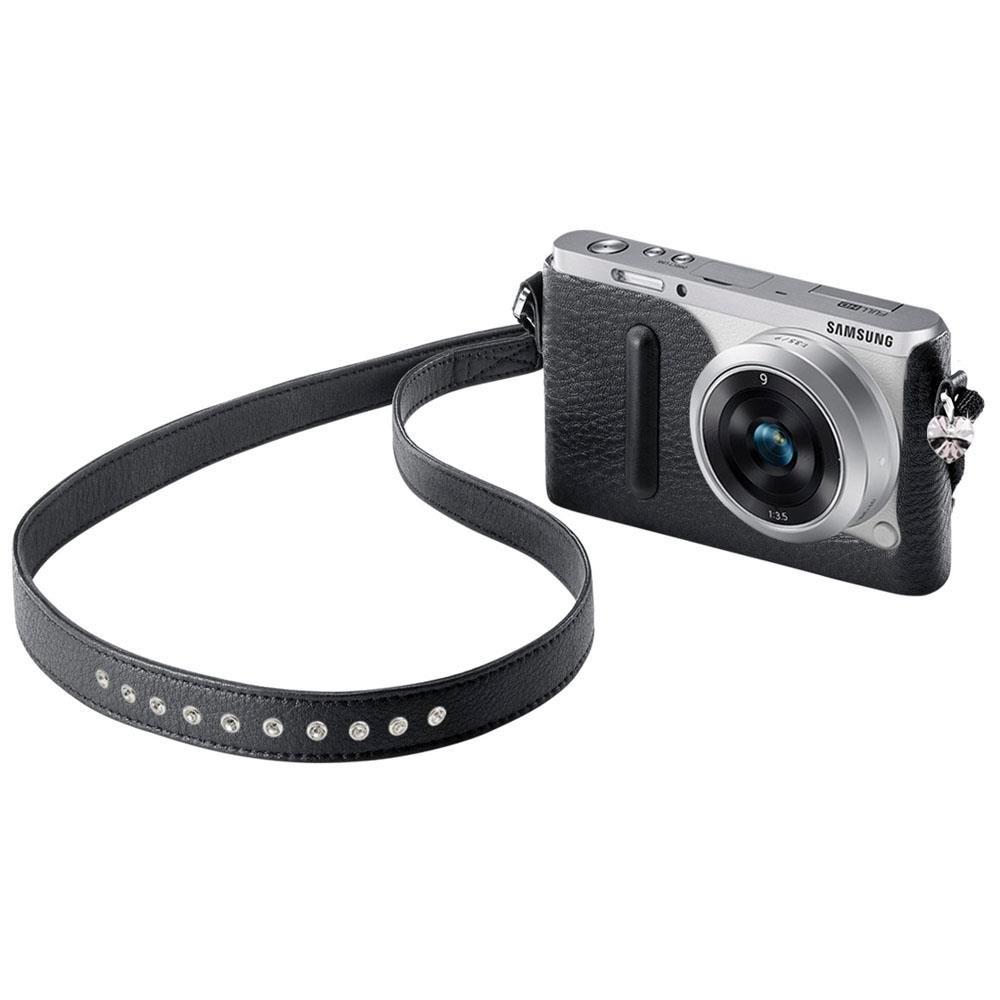 805fba4ac Bolsa Swarovski Samsung Para Nxmini - Preta - R$ 10,89 em Mercado Livre