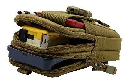 bolsa tactica de lefright molle edc bolsa utilidad para el t
