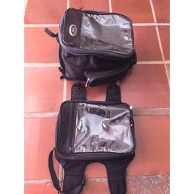 Bolsa Tank Bag Givi Extra Grande 22 - 33 Litros Articulada