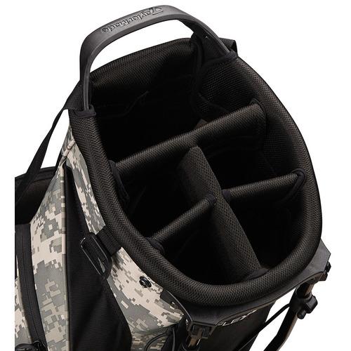bolsa  taylormade tripode flex tech camuflage golf center