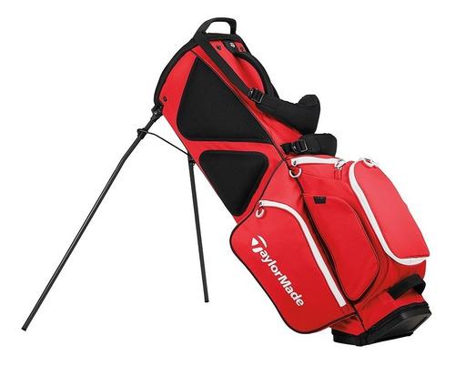 bolsa  taylormade tripode flex tech red golf center
