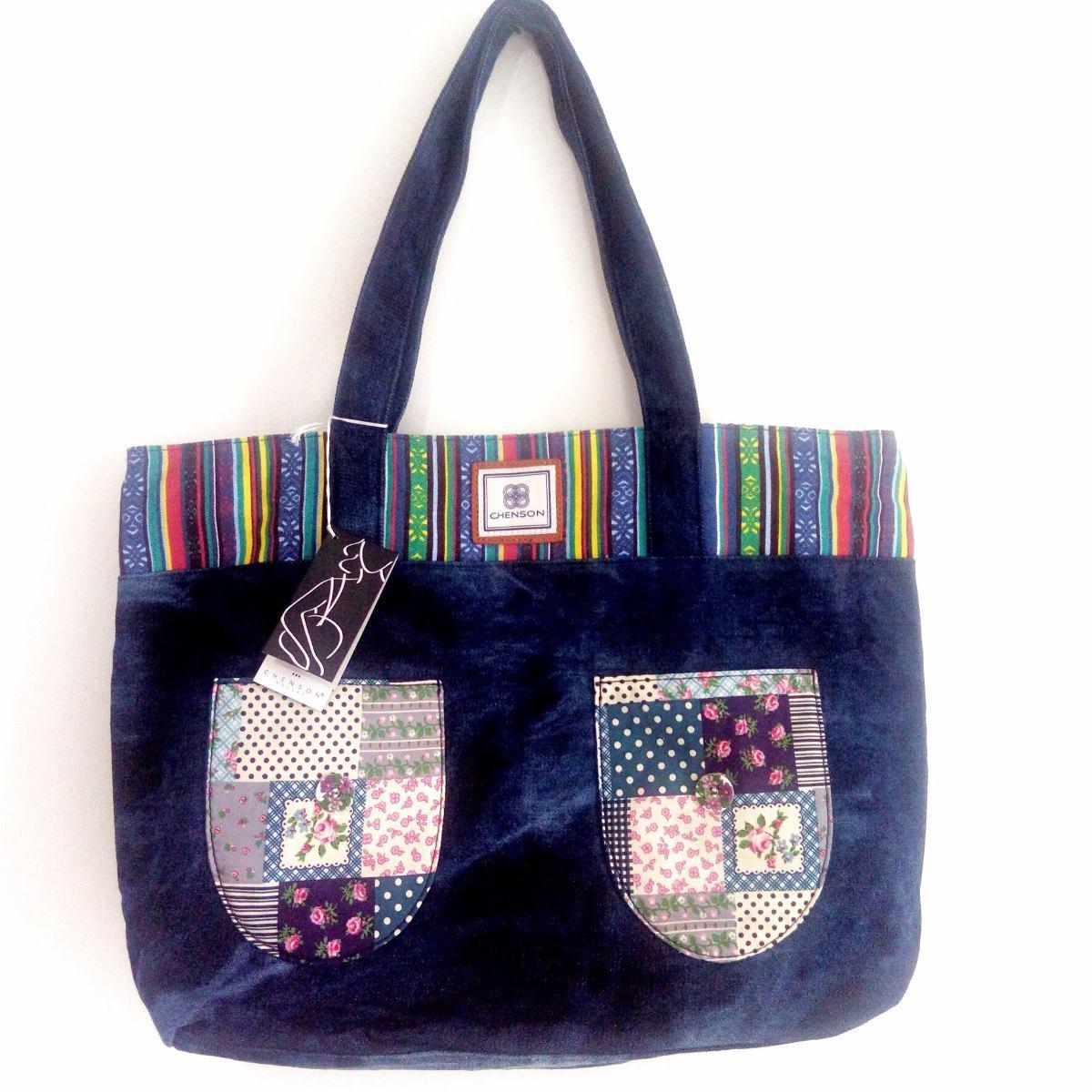 e3cfe924f bolsa tecido feminina sacola jeans patchwork importada. Carregando zoom.