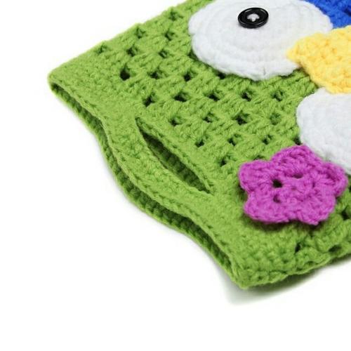 bolsa tejida accesorios para niña