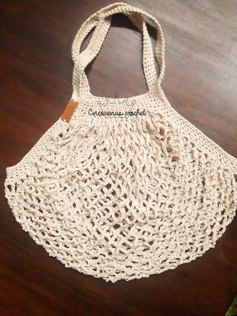 Bolsa Tejida Al Crochet - $ 250,00 en Mercado Libre