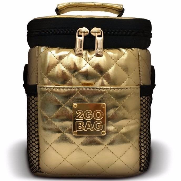 2c41357db Bolsa Térmica 2gobag Fashion Mini Start Dourada - R$ 239,90 em ...
