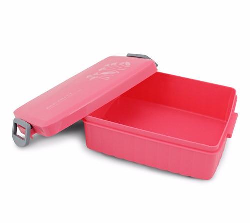 bolsa térmica c/ 2 compartimentos + kit marmita - my lolla