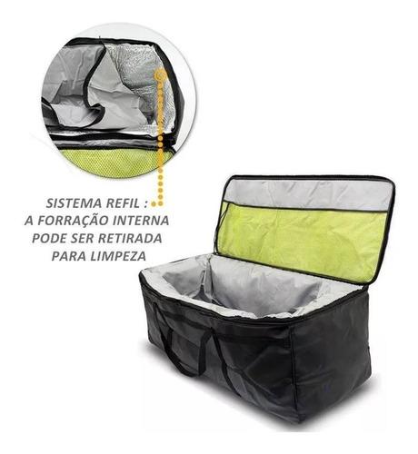 bolsa termica caçamba 133 litros renault oroch