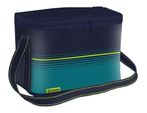 bolsa térmica cooler 9,5 litros praia camping - soprano