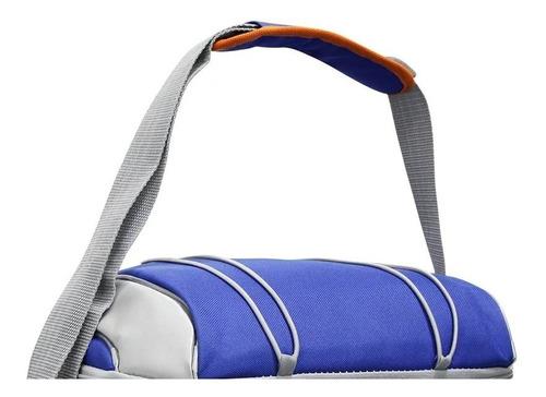 bolsa térmica cooler bora flexível 16 latas + compartimentos