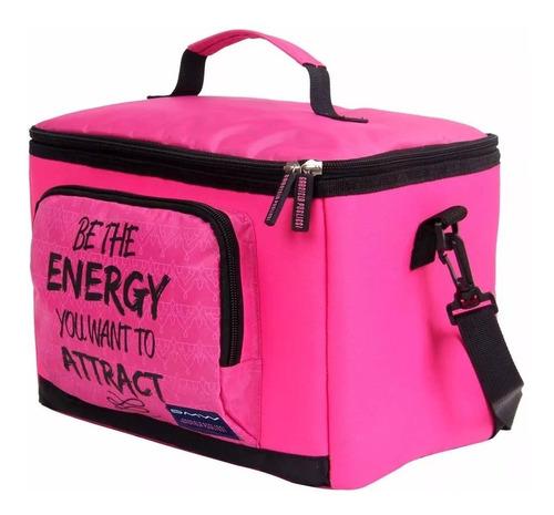 bolsa térmica/ cooler gabriela pugliesi pink dmw- 11082