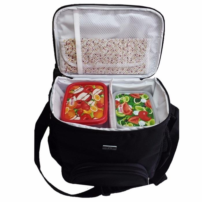 Bolsa Para Levar Comida Fitness : Bolsa termica para alimentos fitness academia masculina