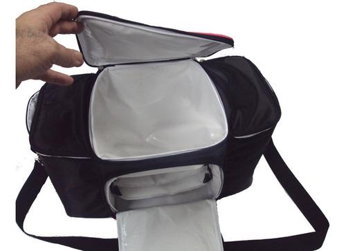 bolsa térmica fitness  com duplo reforço térmico - valorize