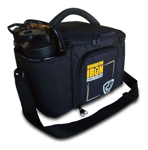 bolsa térmica fitness marmita generation iron everbags preto