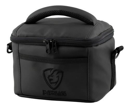 bolsa térmica fitness marmita lancheira black porta marmita