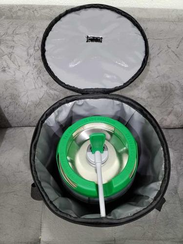 bolsa termica gela barril chopp heineken 5l flashcover