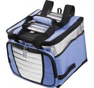 bolsa térmica ice cooler 24 litros c/ divisória até 32 latas
