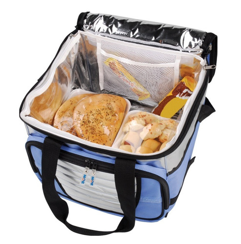 bolsa termica ice cooler 24 litros fitness marmita mor