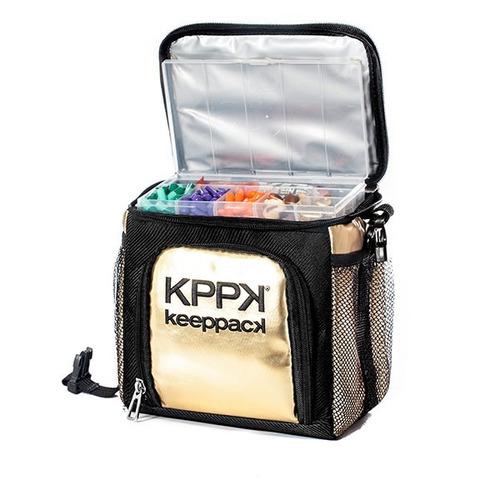 343a6c215 Bolsa Térmica Keeppack Mid (dourada E Prateada) - R$ 212,49 em ...