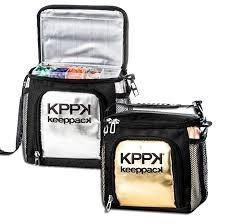 5c9c711db Bolsa Térmica Keeppack Mid (dourada E Prateada) - R$ 231,49 em ...
