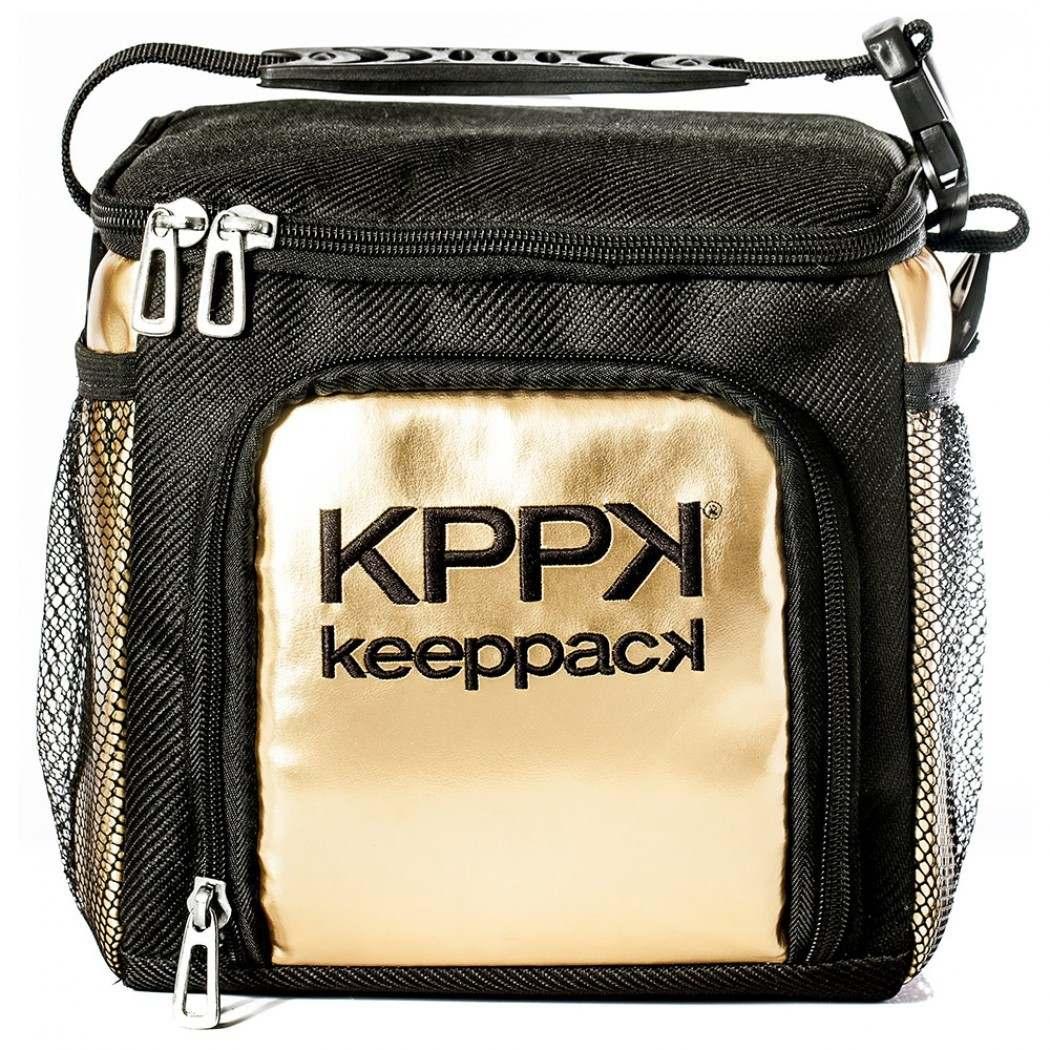 605a9dd40 bolsa termica keeppack mid dourada ( frete grátis + brinde ). Carregando  zoom.