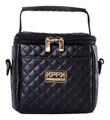 bolsa térmica keeppack mini matelasse + acessórios - kp00015