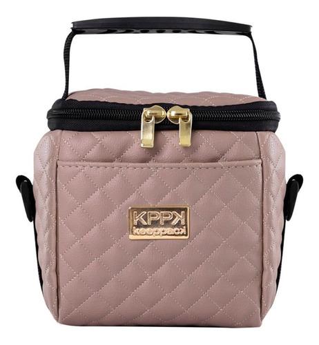 bolsa térmica keeppack mini matelasse + acessórios - kp00016