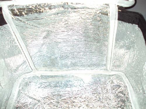 bolsa térmica linha dia a dia inca com fundo branco 21 x 15